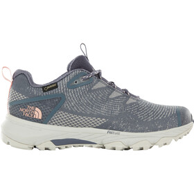 The North Face Ultra Fastpack III GTX Woven Chaussures Femme, grisaille grey/pink salt